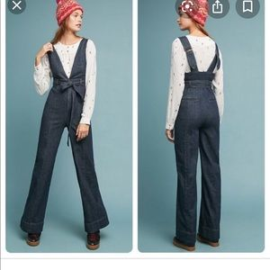Pilcro denim jumpsuit